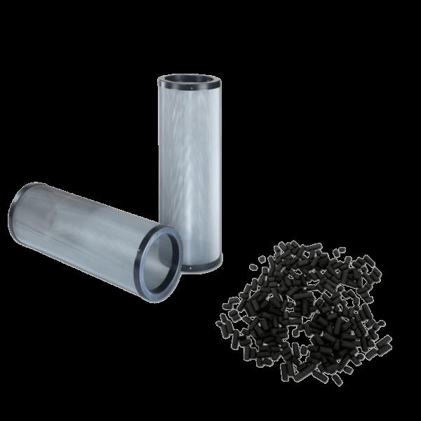 Cartouche de charbon actif rechargeable pour cabine de peinture