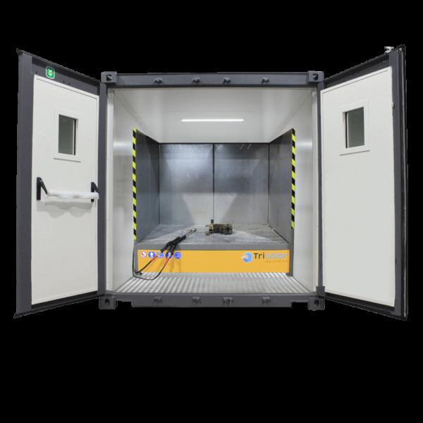Container station de lavage, dégraissage, phosphatation