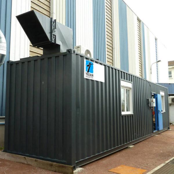 Container cabine de peinture