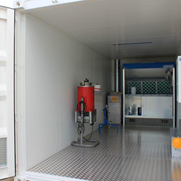 Container de préparation peinture