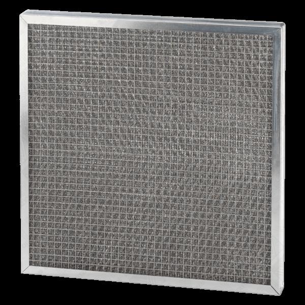 filtre aluminium pour cabine de métallisation