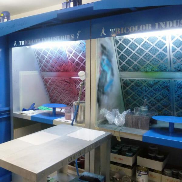 cabine de peinture Labo