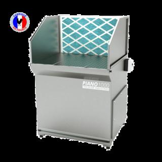 table aspirante pour solvant avec filtration charbon actif