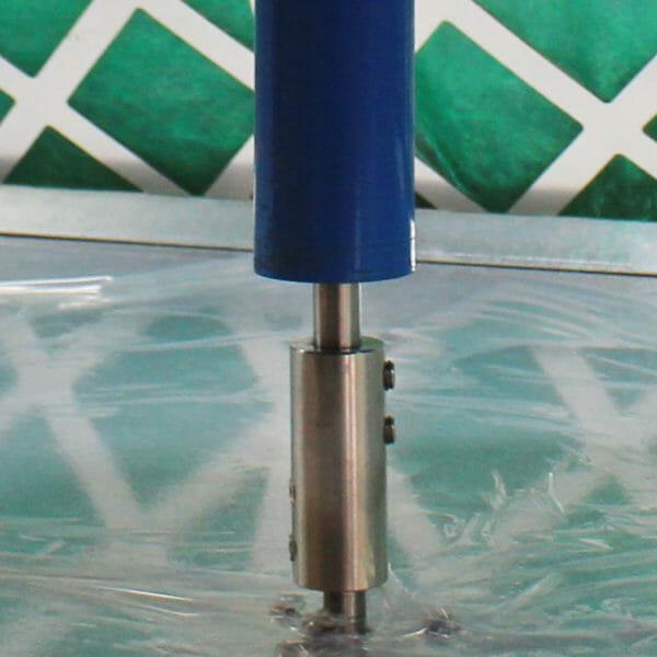 tournette pneumatique pour pièces à peindre