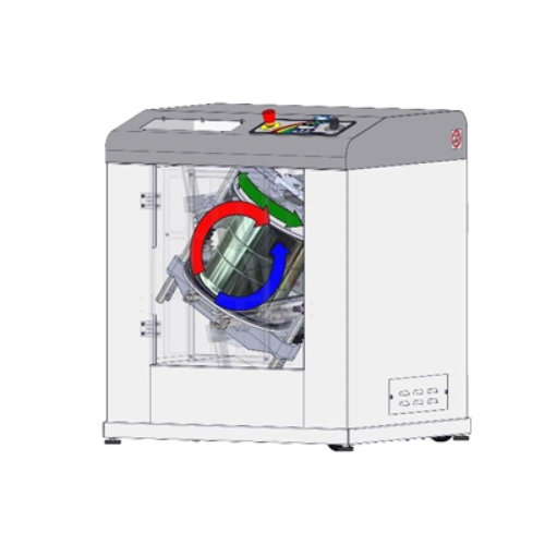principe de fonctionnement de l'agitateur mélangeur peinture gyroscopique