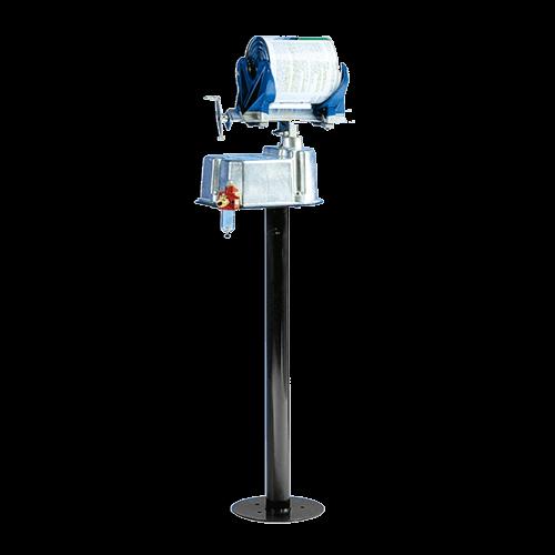 Agitateur mélangeur peinture pneumatique bidons 0,5 à 5L sur pied