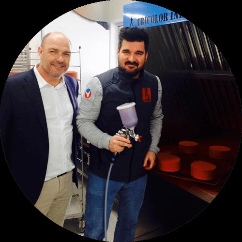 cabine de pulvérisation et flocage alimentaire de Sébastien Bouillet