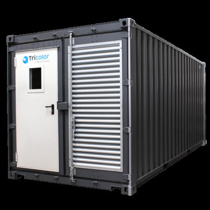Container station de lavage / dégraissage