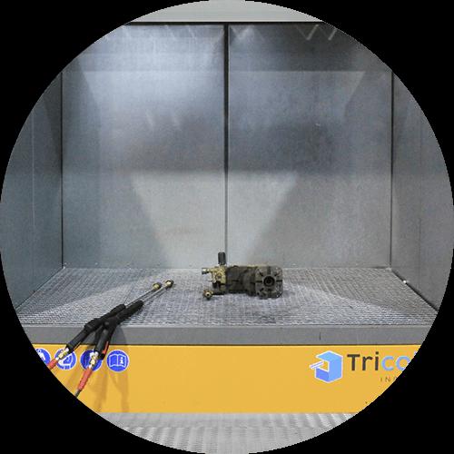 station de lavage dégraissage phosphatation dans un container