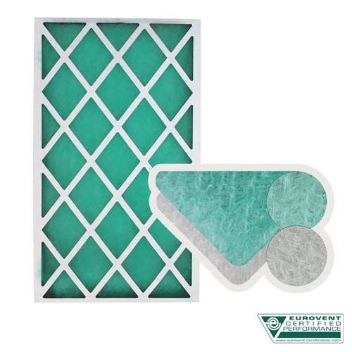 filtres synthétiques et fibre de verre pour table aspirante solvant
