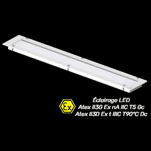 eclairage LED Atex pour cabine de peinture