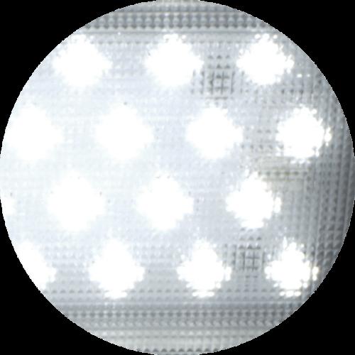 éclairage prismatique d'une lampe LED pour cabine de peinture