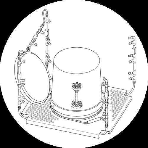 principe de fonctionnement du nettoyeur de bidons