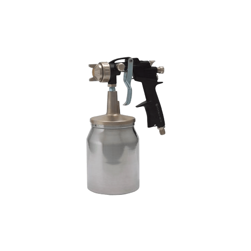 pistolet peinture avec godet