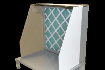 Mini-cabine de peinture Primo