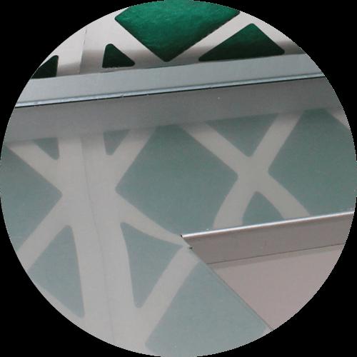 détail d'une cabine de préparation peinture