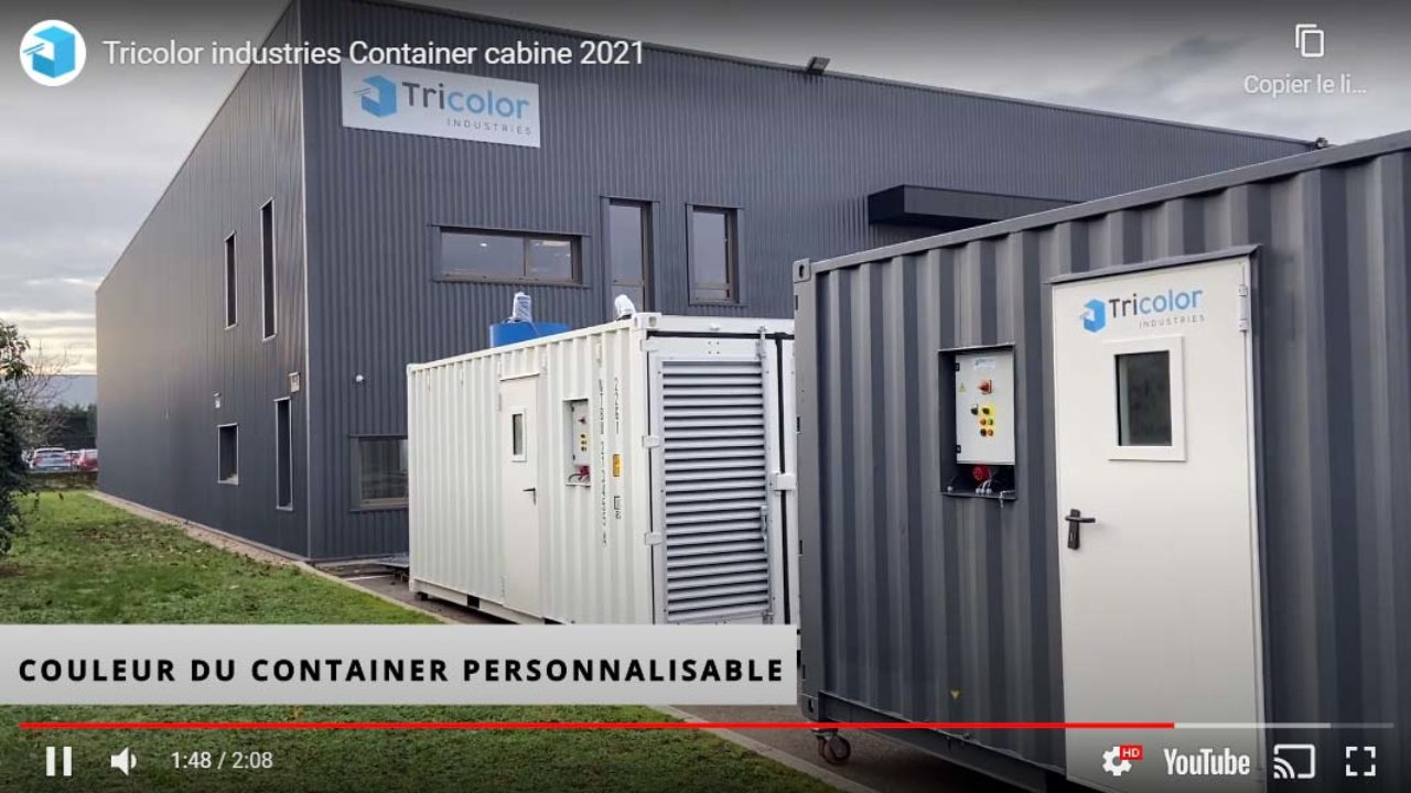 video container cabine de peinture