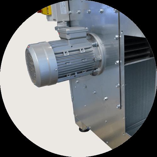moteur ventilateur table aspiration poussiere et fumee